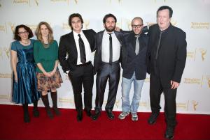 Jane Espenson, Tara Bennett, Jason Rose, Ryan Patrick McGuffey, Damon Lindelof & Des Doyle meet the press at LA Premiere